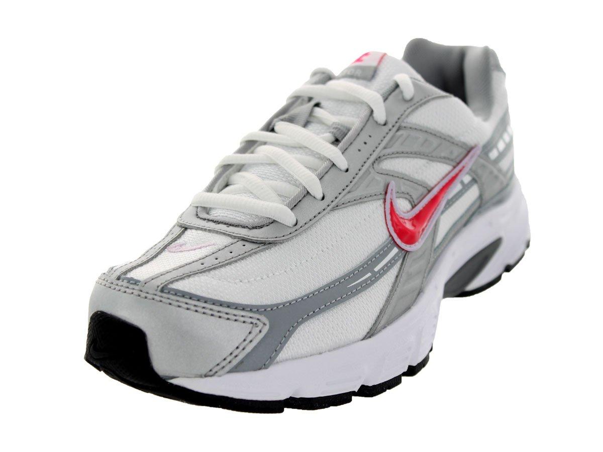 NIKE Women's Initiator Running Shoes B004LBOHDK 9.5 B(M) US|White Silver/ Blue Cherry