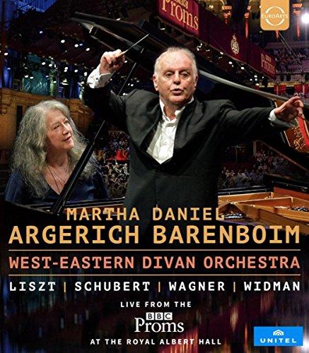 Blu-ray : MARTHA ARGERICH, DANIEL BARENBOIM WEST-EASTERN DIVAN ORCHESTRA - West-eastern Divan Orchestra At The Bbc Proms (Blu-ray)