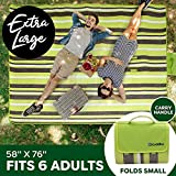 Extra Large Picnic Blanket Dual Layers for Outdoor
