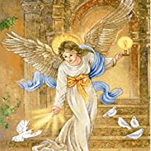 Manual Woodworkers & Weavers Angel of Light Tapestry Wall Hanging by Lena Liu