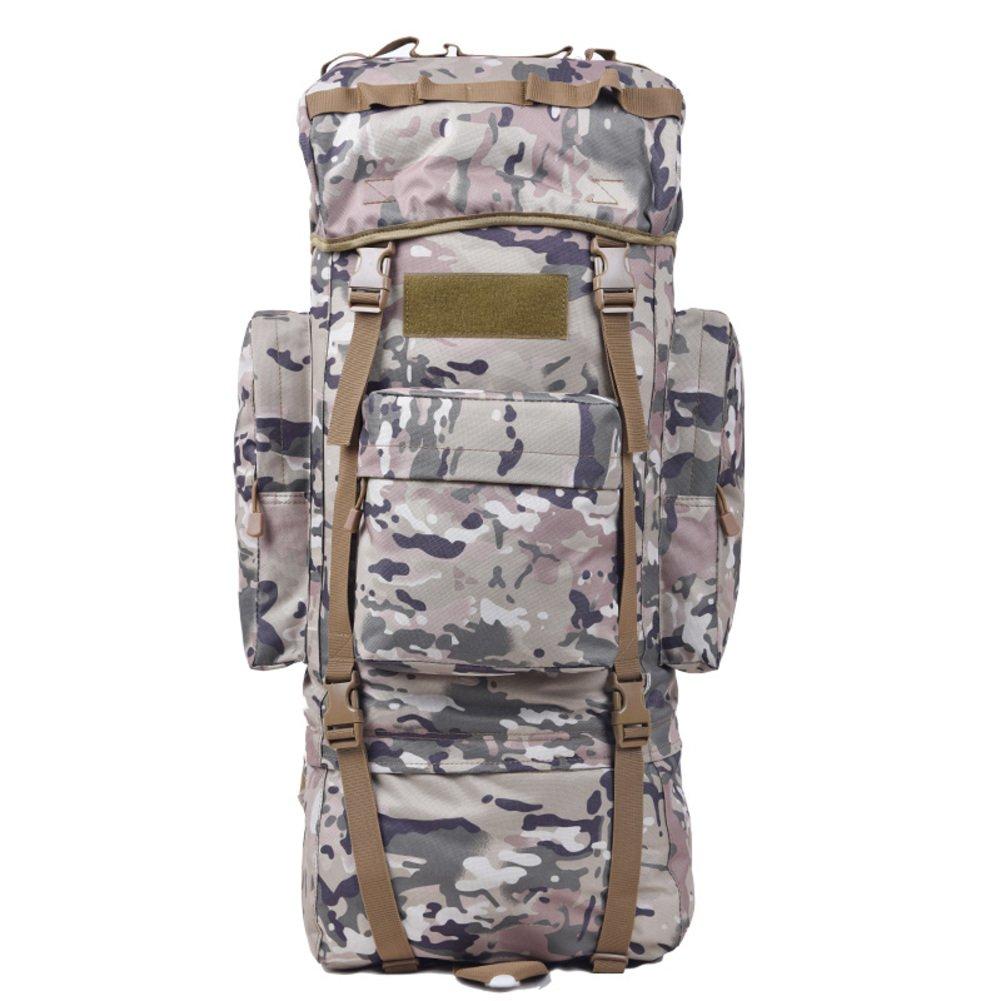 B 65L Alpinisme en plein air sac sac à dos    sac à dos de grande capacité amoureux    imperméable randonnée Pack