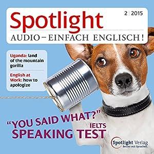 Spotlight Audio- Speaking test. 2/2015 Hörbuch