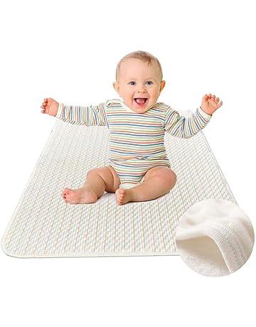 YOOFOSS Cubrecolchón Bebé Protector Impermeable para Cuna 70 x 100cm, Colchón Incontinencia a los Mayores
