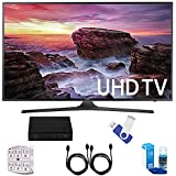Samsung UN40MU6290 6-Series 39.9 LED 4K UHD Smart TV Deluxe Accessory Bundle includes TV, TV Tuner, 16GB USB 2.0 Flash Drive, Screen Cleaner, 6-Outlet Surge Adapter, and 6ft High Speed HDMI Cable x 2