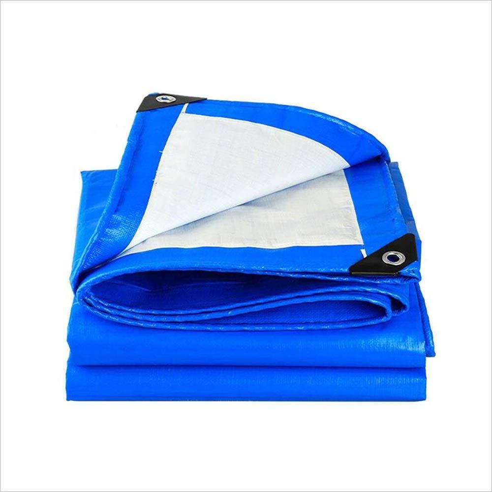 TARPAULIN Plane Wasserdichtes Segeltuch, blaues Polyäthylen-regendichte Tuch-Boden-Abdeckungs-Abdeckung im Freien Bauernhof   kampierendes Lager Segeltuch-Segeltuch 500g   M2