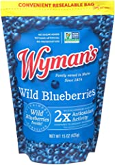 Wyman's of Maine, Wild Blueberries, 15 Ounce (Packaging May Vary)