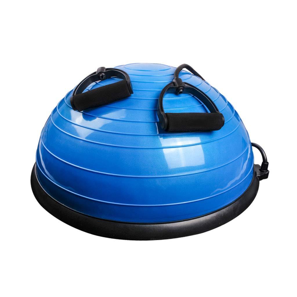 Yoga Ball, explosionssichere Yoga Ball Fitness Pukati Halbkreis Balance Ball Rehabilitation Training Ball