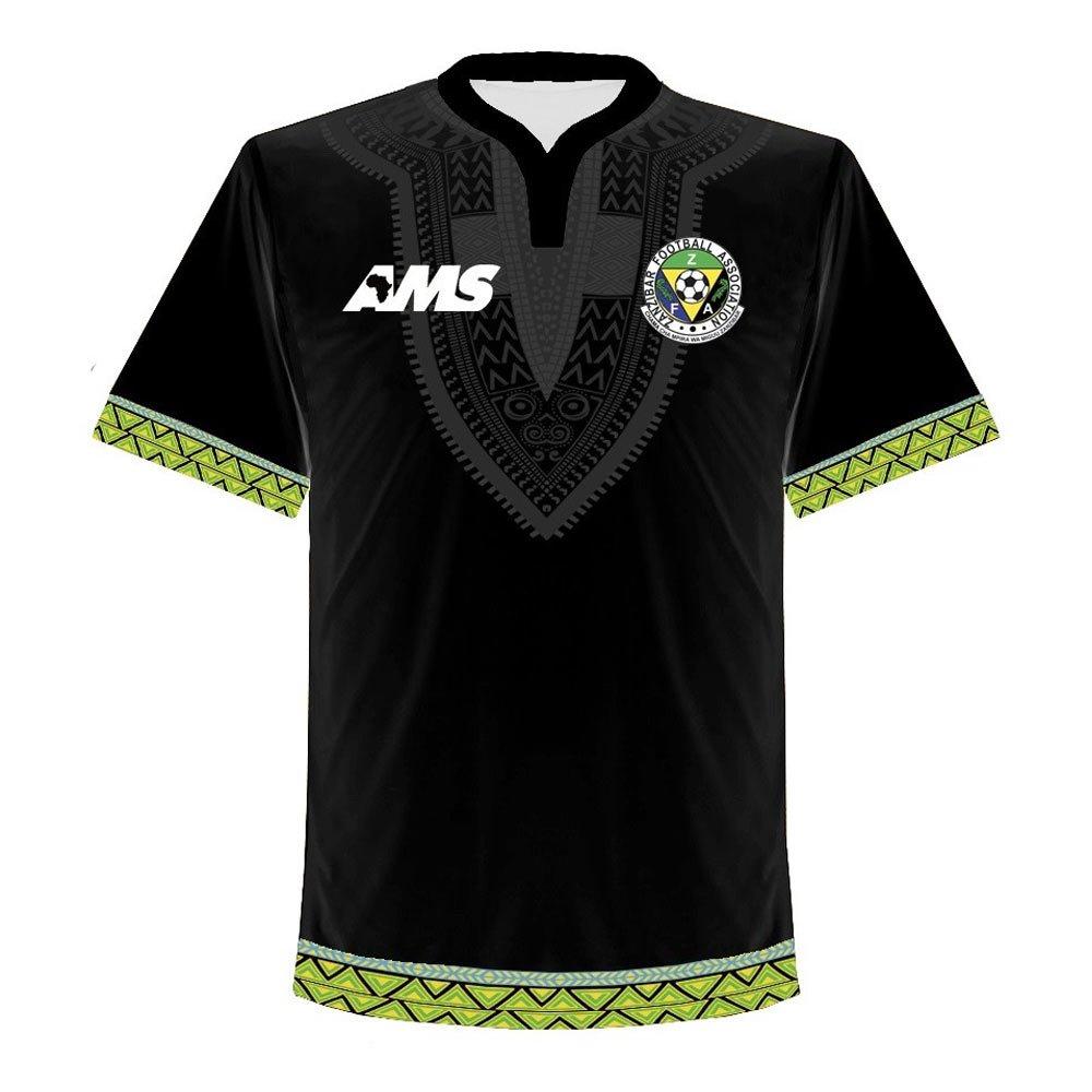 AMS 2017-2018 Zanzibar Home Football Soccer T-Shirt Trikot