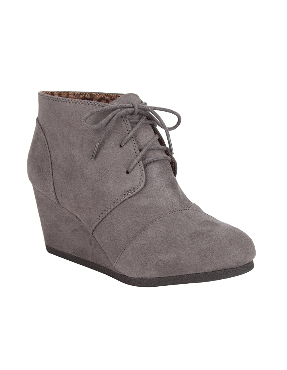 Charcoal CITYCLASSIFIED City Classified Rex Womens Wedges