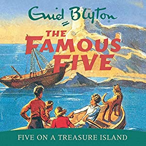 Five on a Treasure Island Audiobook