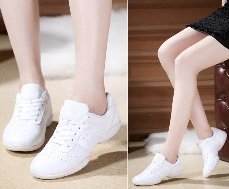 DADAWEN Women's Sport Training Cheerleading Shoes B0756CZNL9 42/Tag US Size 10/EU Size 42/Tag B0756CZNL9 Size 8|All White bdb6a5