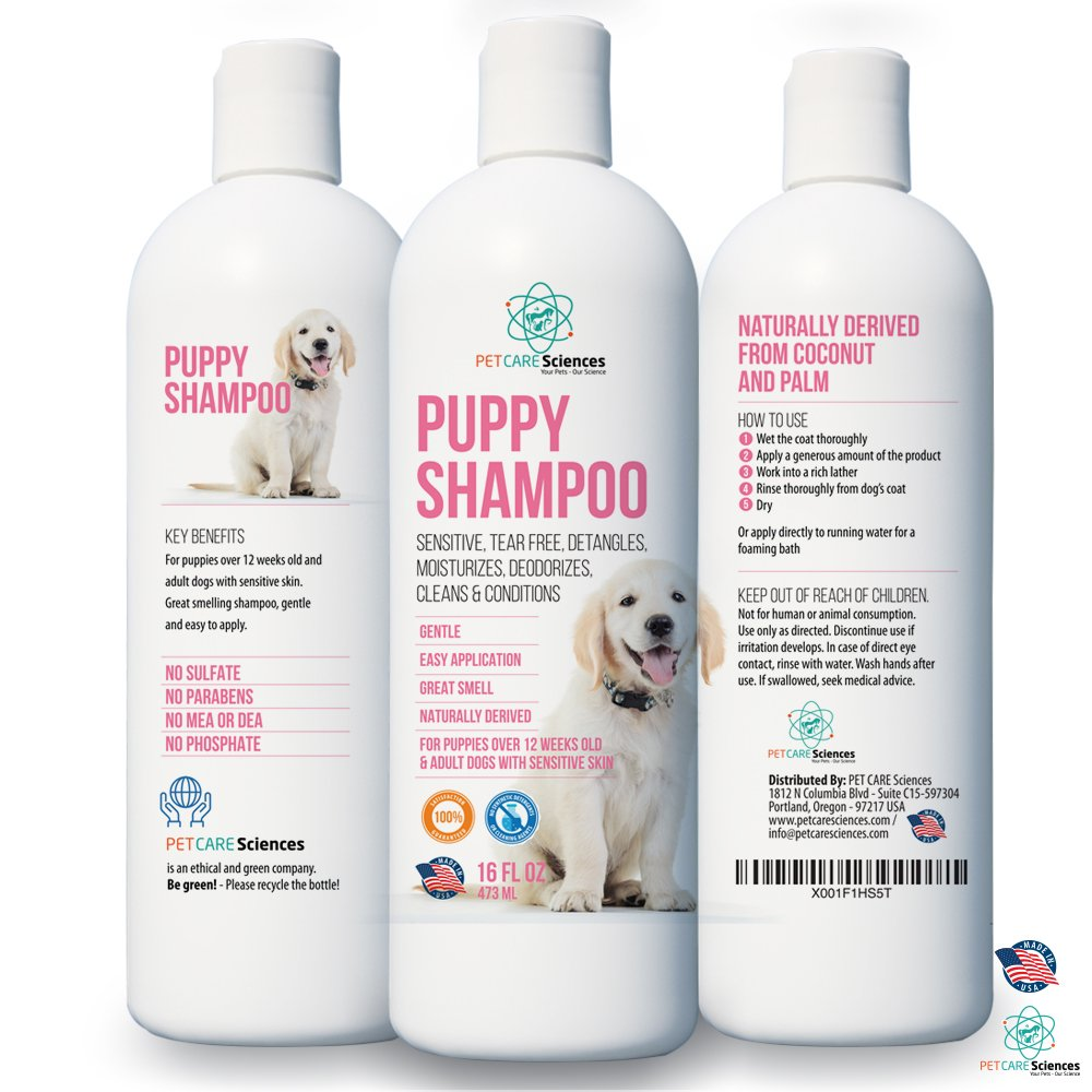 Best rated in dog shampoos plus conditioners helpful customer pet care sciences puppy shampoo gentle sensitive tearless 96 naturally derived with coconut oil solutioingenieria Images