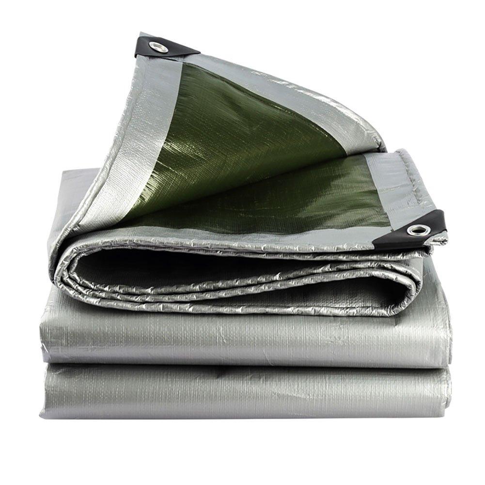 QX pengbu IAIZI Plane Rainproof Tuch Wasserdichte Sonnencreme-Plane Schattentuch Regentuch Linoleum Canvas-Plane Verdicken Sie Plane
