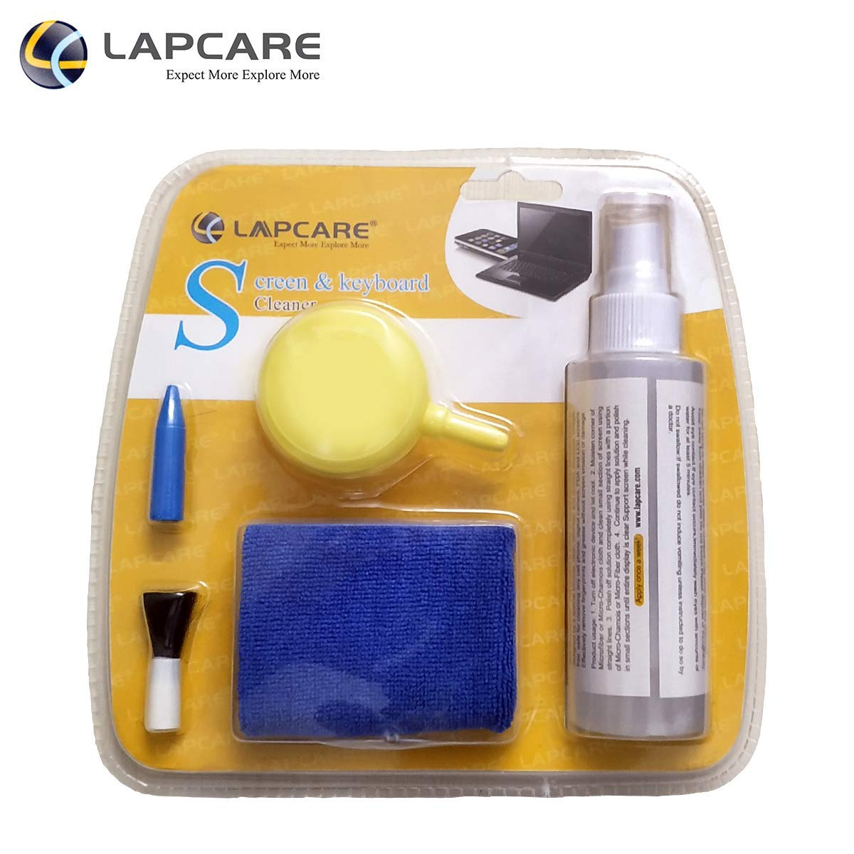 Lapcare 5-in-1 Screen Cleaning Kit with Suction Balloon product image