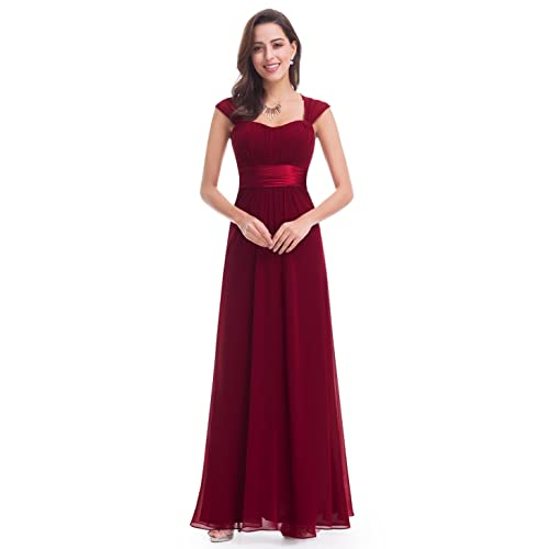 Ever Pretty Womens Sleeveless Floor Length Evening Dress with Empire Waist 08834