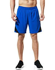 "Tesla Men's Running Shorts Quick Dry Mesh Liner Jogging Training 3""/ 4""/ 5""/ 7"""