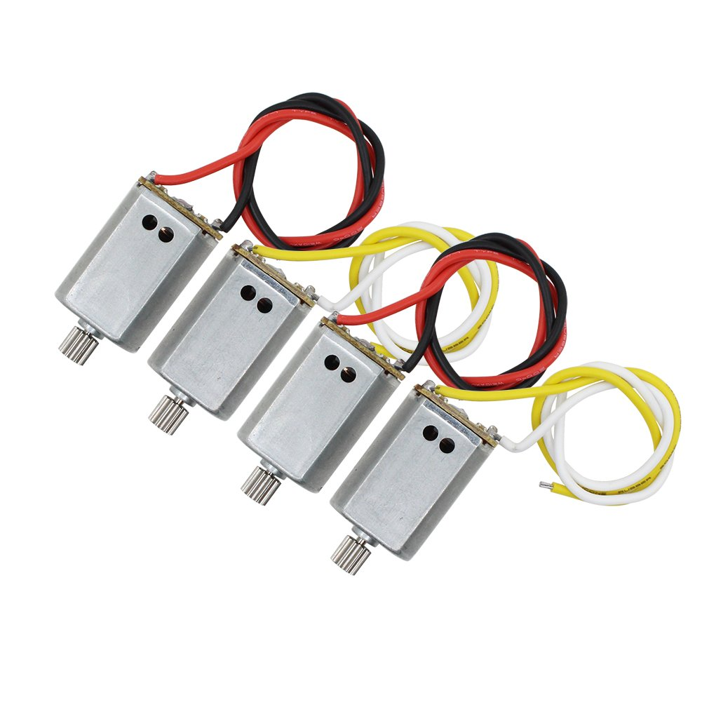 BTG 4PCS Motors for Syma X8SC X8SW RC Quadcopter Parts Replacement Anti-clockwise CCW Clockwise CW