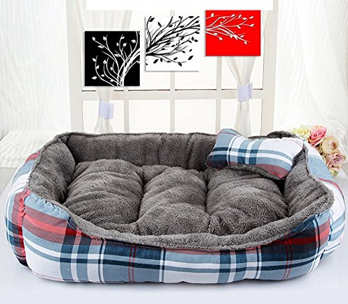 Large LIYONG Work Fine Doghouse Four Seasons Universal Dog Nest Cat Litter Pet Supplies (Size   L)