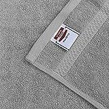 Utopia Towels Cool Grey, Towel Set, 2 Bath