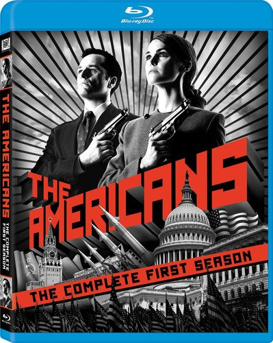 Blu-ray : The Americans: The Complete First Season (Dubbed, Digital Theater System, Widescreen, AC-3, 3 Pack)