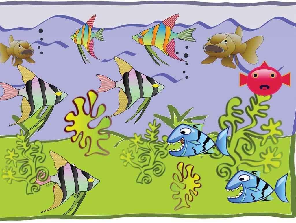 Lais Jigsaw Puzzle Cartoons aquarium 2000 pieces
