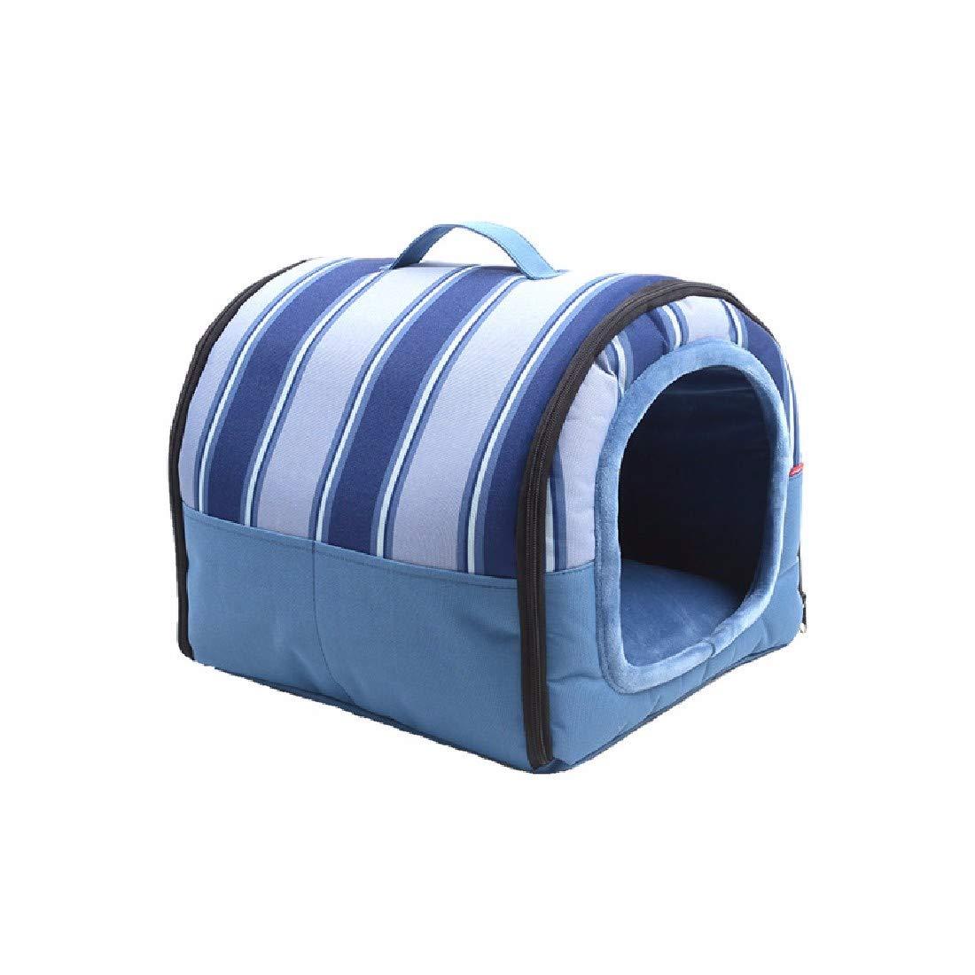 Casa dell'Animale Domestico Dog House Cani di Piccola Taglia Pet I Prodotti A Casa,M(48x35x40cm)