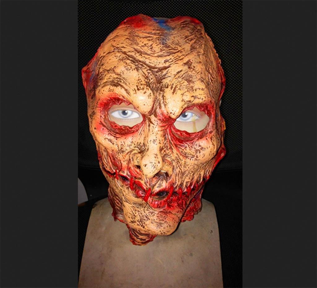 Mustbe strong Terror Kindesmissbrauch Maske grausam Folter Gefangenen Zombie Zombie Geistermaske Bar zusammenkommen COS Heikel Furchtsam High qualityModellierung realistisch