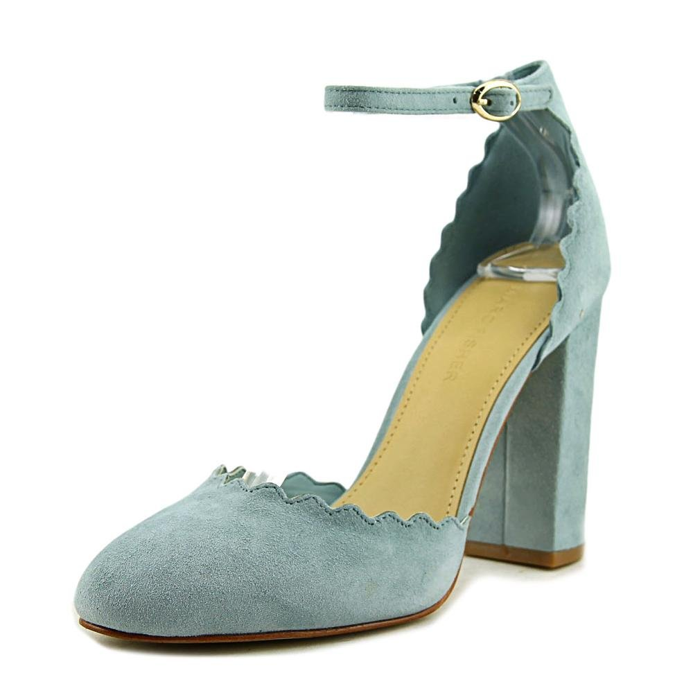 Marc Fisher Women's Sahar Pump B06XHP64Y9 5 B(M) US|Light Blue