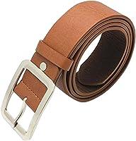 Floralby Classic Men Women Faux Leather Belts Casual Business Waist Belt Strap