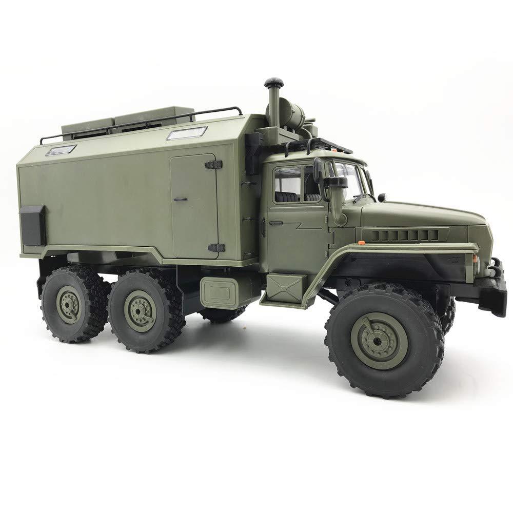Jamicy Fernsteuerungs LKW, WPL B36 Ural 1 16 RTR 2.4G 6WD RC Auto Elektro Off-Road Militär LKW Crawler