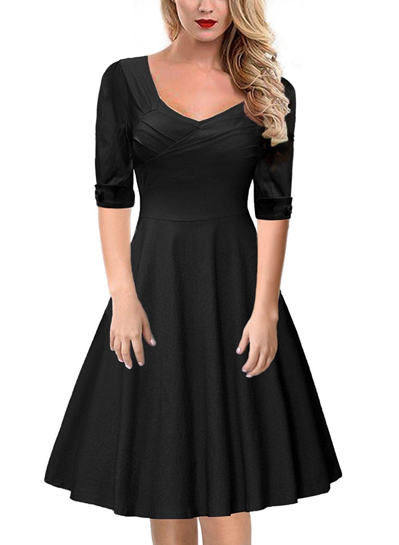 Das Kleine Schwarze Kleid Elegant: Amazon.de