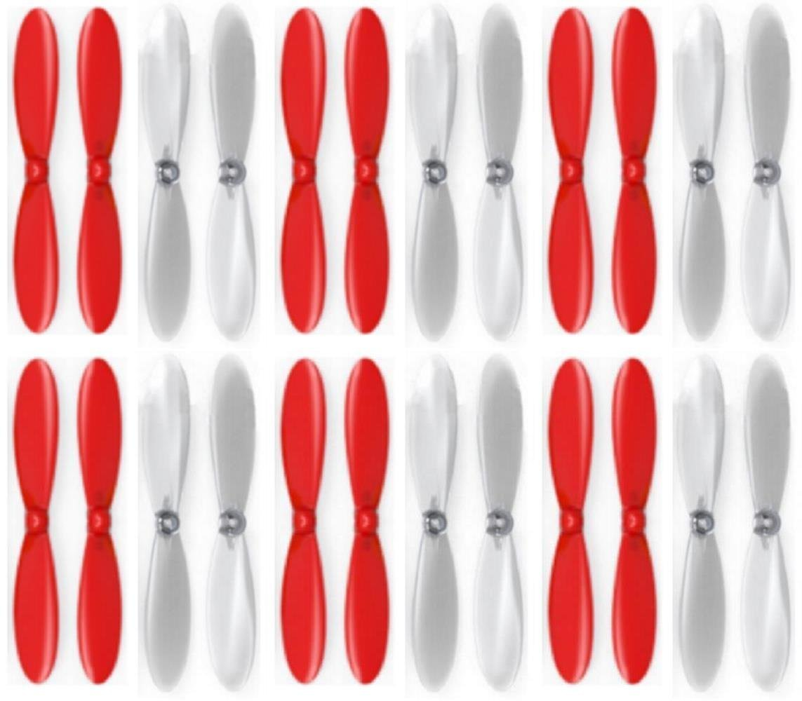 6 x Quantity of Estes Dart ROT Clear Propeller Blades Props Propellers Transparent - FAST FROM Orlando, Florida USA!