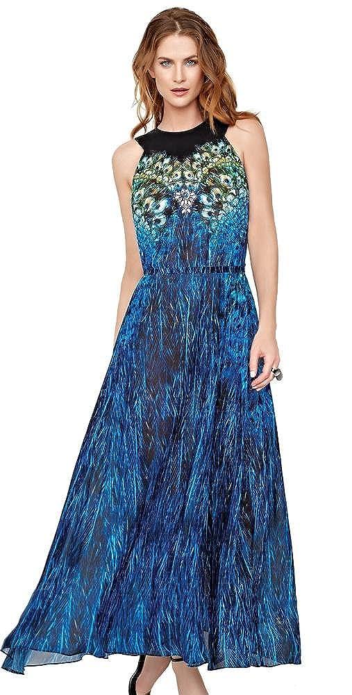 Multi Gottex Pavone Long Sun Dress