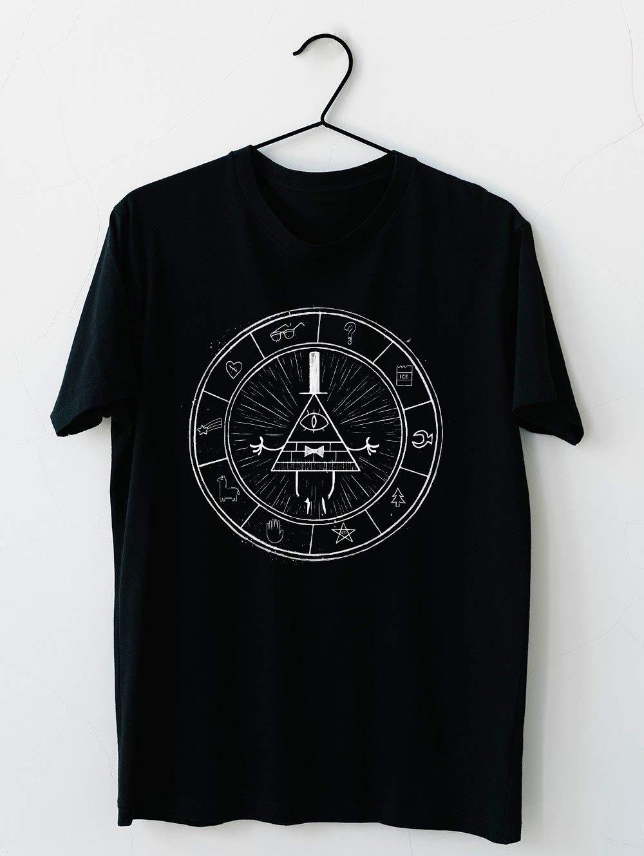 Gravity Falls Bill Cipher On Black T Shirt For Unisex