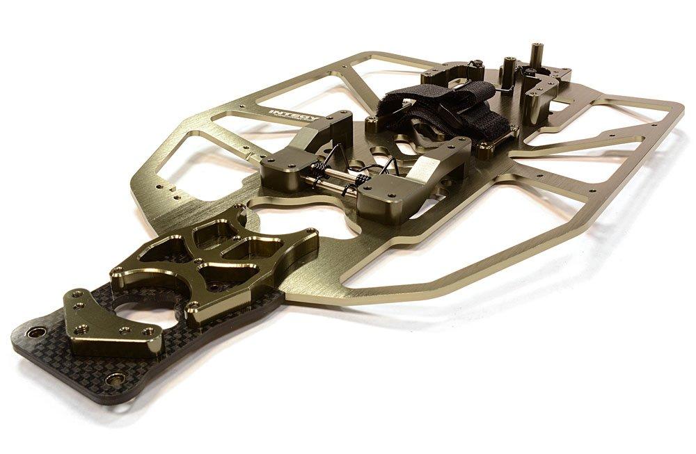 forma única INTEGY T8091GREY - Juego Juego Juego de conversión de chasis de aleación para Traxxas 1/10 Electric Slash 2WD  promociones de descuento