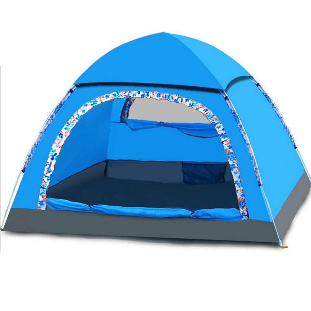 MIAO Automatische Zelte, Outdoor 3-4 Personen Camping Rain Prevention
