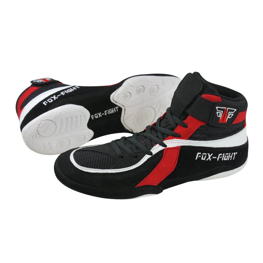 FOX-FIGHT Ringer Ringer Ringer Schuhe (Wrestling)   Wildleder 5e60d7
