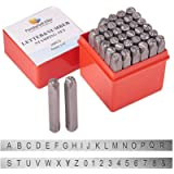 36PC LARGE LETTER AND NUMBER PUNCH METAL STAMP SECURITY MARKER 5MM SET BRAND NEW