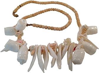 """Sea Shells Necklace, Hawaiian Style Necklace, """"Aloha"""" Jewelry, Beach Accessory"""