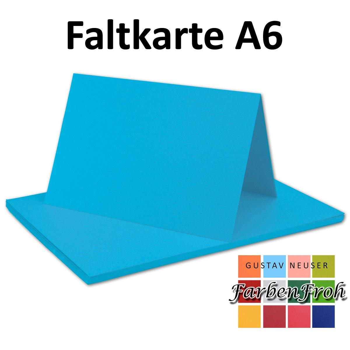 150x 150x 150x Falt-Karten DIN A6 Blanko Doppel-Karten in Vanille -10,5 x 14,8 cm   Premium Qualität   FarbenFroh® B079VLHT3Q | Ästhetisches Aussehen  144939