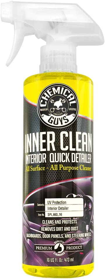Amazon.com: Chemical Guys SPI_663_16 InnerClean Interior Quick Detailer and Protectant (16 oz): Automotive
