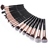 Makeup Brush Set, 24pcs Premium Cosmetic Brushes for Foundation Blending Blush Concealer Eye Shadow, Cruelty-Free Synthetic F