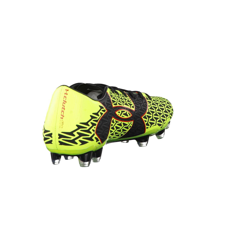 Scarpe calcio Under Armour, mod. Clutichfit Force Force Force 2.0 FG Football, art. 1264199734, colore giallo, 13 tacchetti 568c88