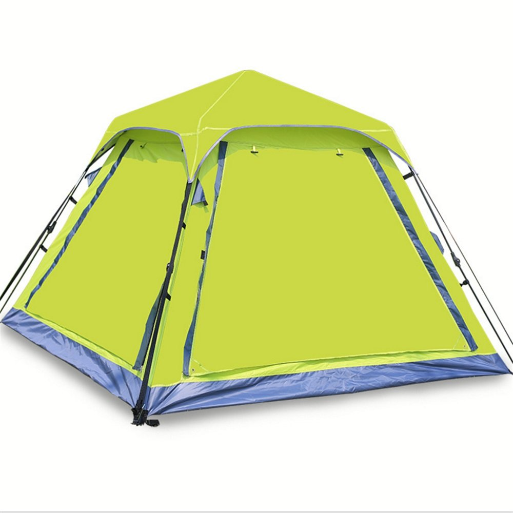 Yzibei Haltbar Outdoor Doppel Doppel Camping Camping Explosionsgeschützte Regen Zelt Geschwindigkeit
