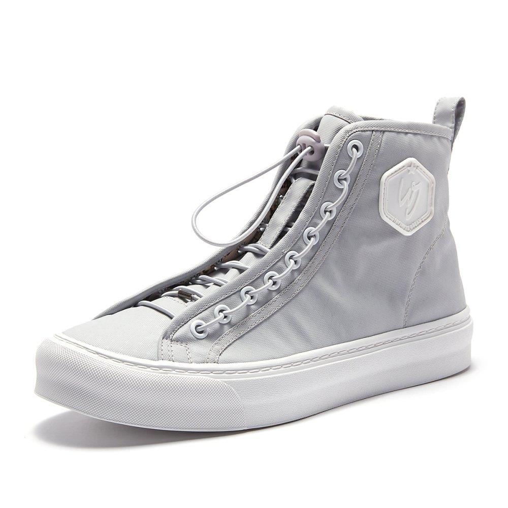 Männer Leinwand High-Top-Schuhe Ulzzang Schuhe Persönlichkeit Straße Tanzschuhe Hip-Hop-Board Schuhe Ulzzang Gray 161b85