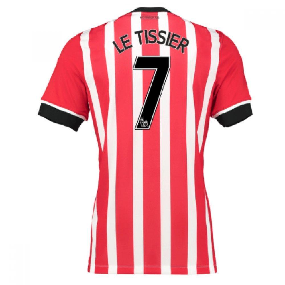 2016-17 Southampton Home Football Soccer T-Shirt Trikot (Matthew Le Tissier 7)