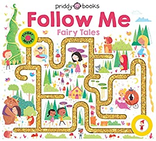 Book Cover: Maze Book: Follow Me Fairy Tales