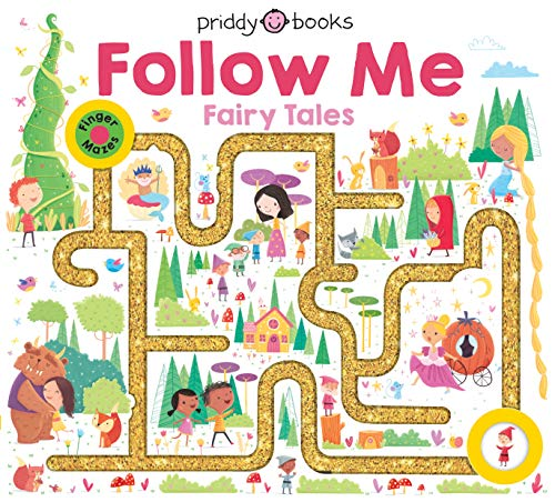Book Cover: Maze Book: Follow Me Fairy Tales