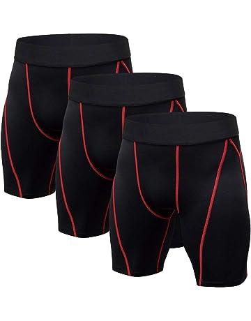 b5ba9c9906ec Pantalones de compresión de running para hombre   Amazon.es