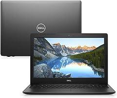 Notebook Dell Inspiron 15 3000, i15-3584-A10P, 7ª Geração Intel Core i3-7020U, 4 GB RAM, HD 1TB, Intel® HD Graphics 620,...